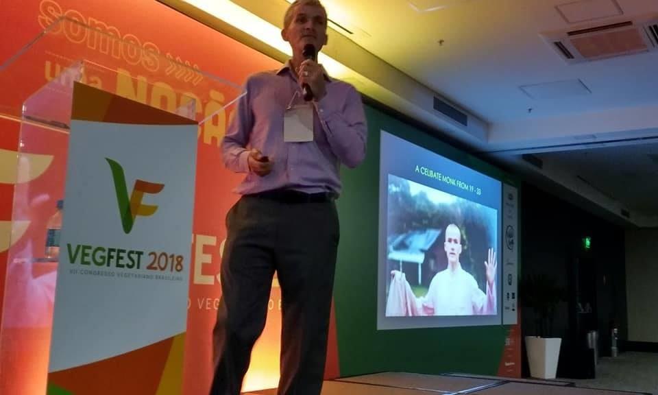 Paul Turner at Vegfest Brazil 2018